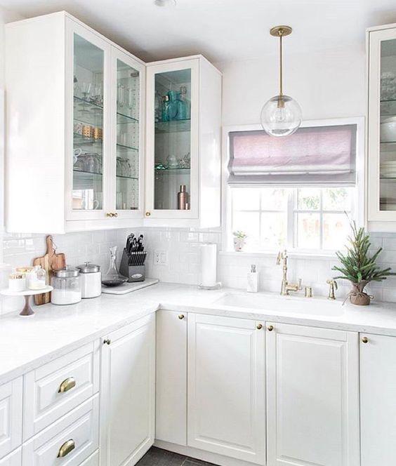 White perfect kitchen