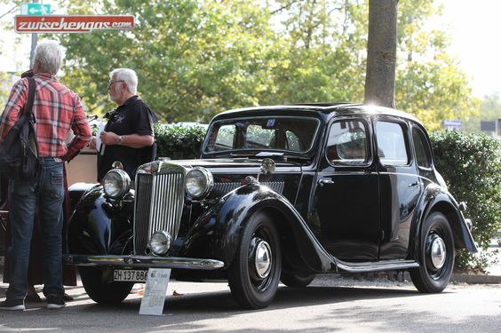 Eindrücke des Zürcher Classic Car Award - MG Y (1948) Mehr zu sehen und zu lesen gibts auf Zwischengas.  © Bruno von Rotz