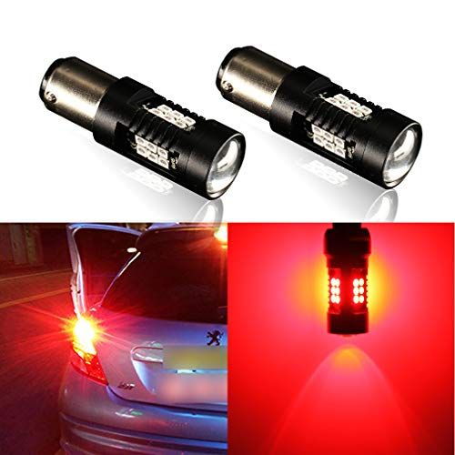 Toauto 1157 Led Bulbs Super Bright 2057 2357 Bay15d Bulb Excellent Red Use For Car Tail Lights Brake Lights Turn Signal Lights With Images Led Bulb Bulb Tail Light