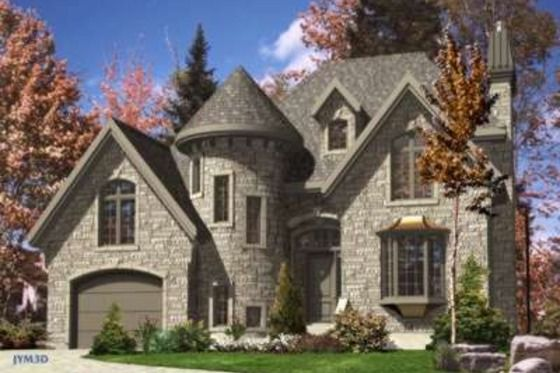 Love the look of this one on the out side but would do some tweaking on the inside.  Add a full basement and i think i'm in love.   House Plan 138-146