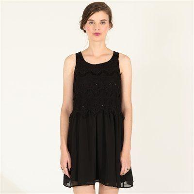 Pimkie.fr : On aime l'esprit rétro 20's de la petite robe noire.
