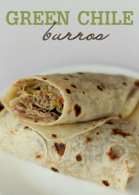 Green Chile Burros