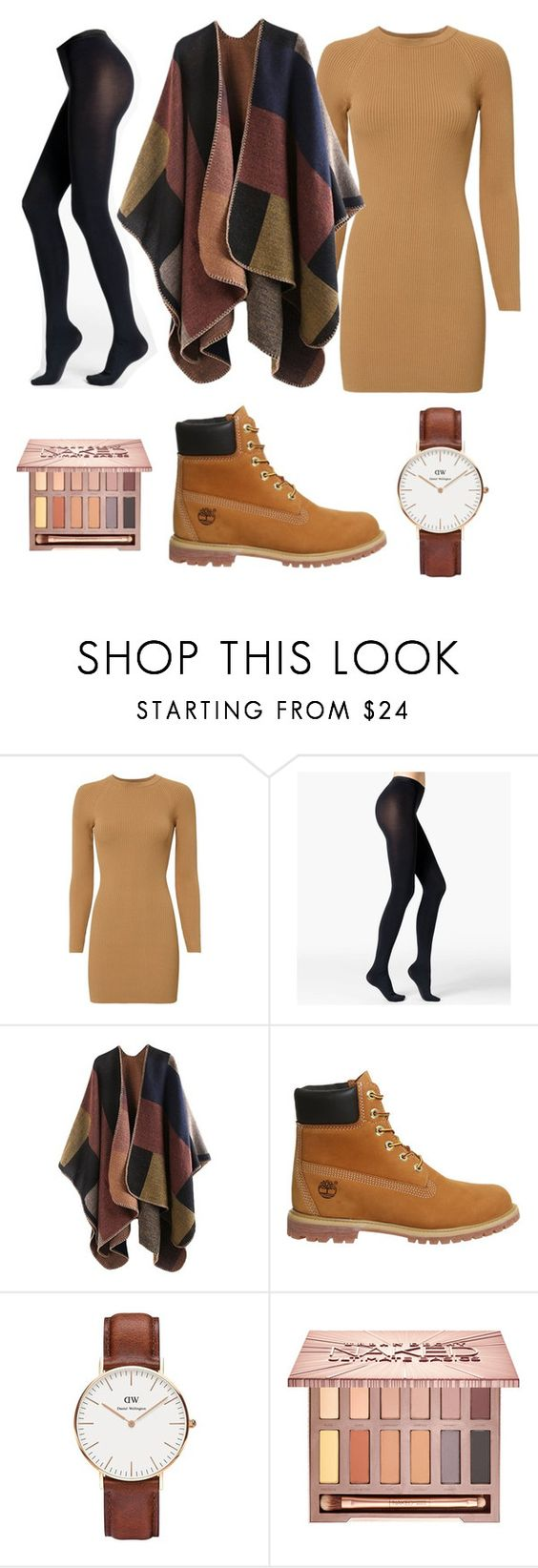 """""""fall"""" by shopaholic02 ❤ liked on Polyvore featuring A.L.C., Fogal, Timberland, Daniel Wellington and Urban Decay"""