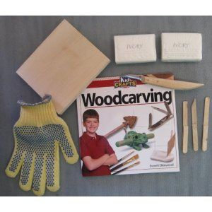 wood whittling kit for kids paper crafts pinterest