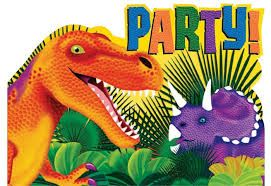 You can have an awesome Dinosaur party. Look through our Pinterest ideas, and browse the Dinosaur category on our website. http://www.partypalooza.com/Merchant2/merchant.mvc?Screen=CTGY&Category_Code=DinosaurToys