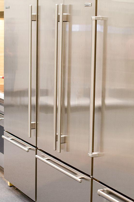 Classic Subzero Refrigerator At The Architectural Digest