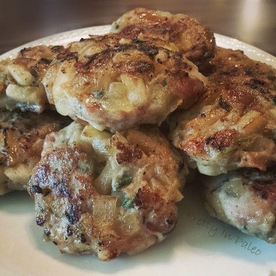 Apple Sage Chicken Patties | fastPaleo Primal and Paleo Diet Recipes