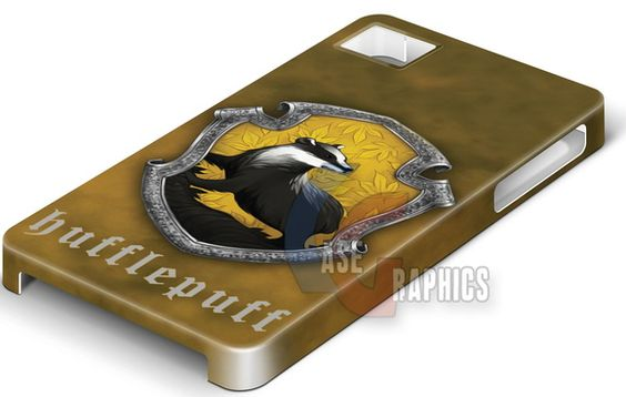 Capa celular Harry Potter Hufflepuff
