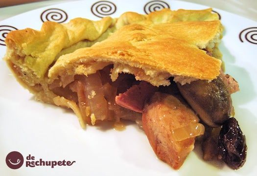 Empanada Gallega De Pollo Y Mousse De Foie Receta Paso A Paso Recipe Empanadas Curry Chicken Recipes Garlic Chicken Recipes