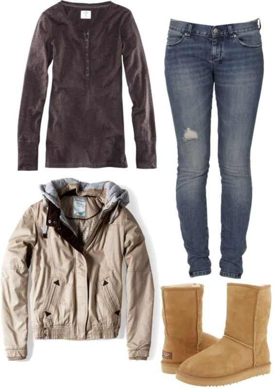 """""""look inverno 6º ano"""" by fashionteenagers on Polyvore"""