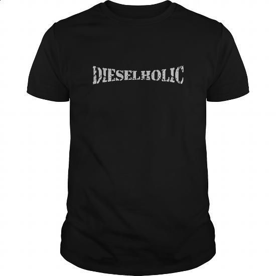 Dieselholic Great Funny Gift For Any Diesel Fan Mechanic - #designer t shirts #designer hoodies. BUY NOW => https://www.sunfrog.com/Automotive/Dieselholic-Great-Funny-Gift-For-Any-Diesel-Fan-Mechanic-Black-Guys.html?id=60505