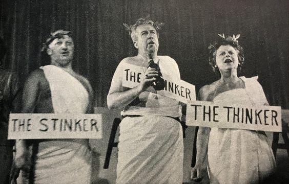 Stinker, Drinker and Thinker.