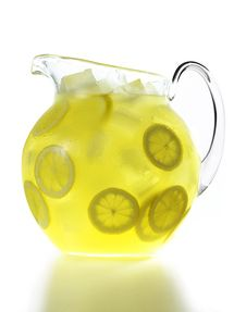 Pitcher of Fresh-Squeezed Lemonade