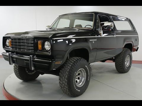 1978 Dodge Ramcharger for sale by Worldwide Vintage Autos in Denver,  Colorado 80216 on Classics on Autotrader. 22,900 | Dodge ramcharger, Old  dodge trucks, DodgePinterest