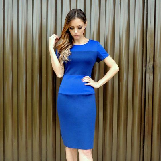 vestido-midi-azul-navy-justo-tubinho-moda-2016-tendencia-ta-na-moda-comprar