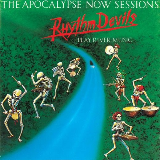 "The Rhythm Devils ""The Apocalypse Now Sessions"" Passport Records 12"" LP Vinyl Record (1980) Album Cover Art Stanley Mouse"