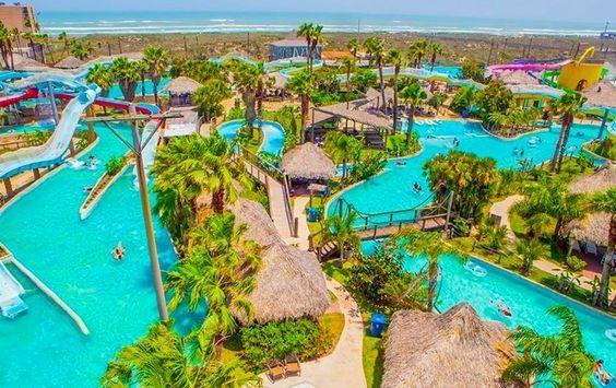 Parques Acuáticos De Agua Termal En México También Hay Balnearios Water Park South Padre Island Vacation Trips