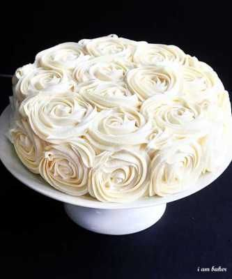 5 Impressive Cake Frosting Techniques + Tutorials «  This would be cute in graduations of punk and purple for a little girl's birthday.