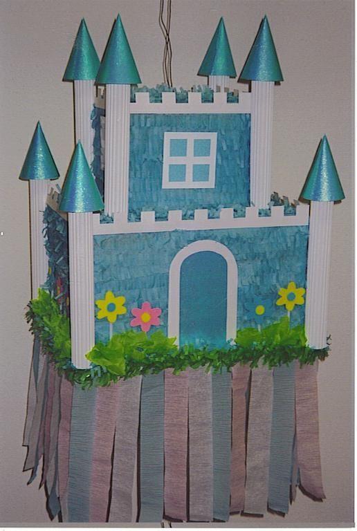 Castle pinata: