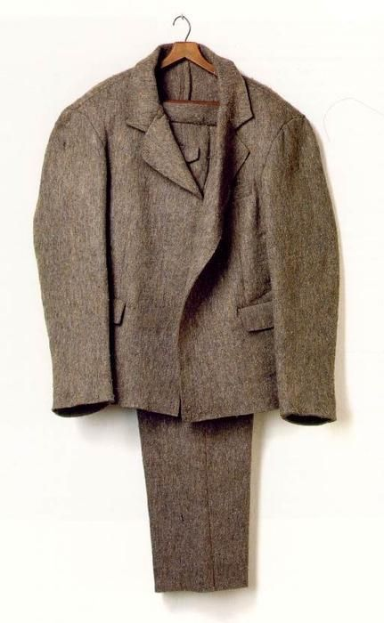 'Felt suit', 1970 by Joseph Beuys (1921-1986, Germany)