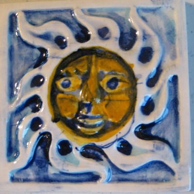 smiling sun dimensions mexican bisque tile www reesotiles com