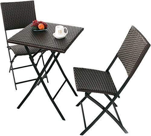 Appealing Outdoor Patio Furniture Ideas Featuring Trendy Black