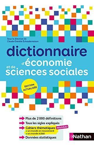 Telechargez Ou Lisez Le Livre Dictionnaire D Economie Et De Sciences Sociales De Herve Priels Au Format Pdf Et Ep Sciences Sociales Dictionnaire Telechargement