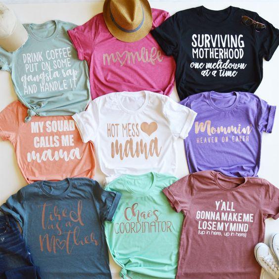 Mama Tees | Custom shirts. Order yours at Boardman Printing. Visit Facebook/BoardmanPrinting