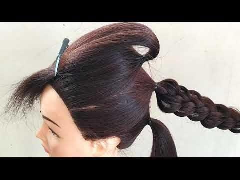 3 Ponytail Bun Hairstyle For Party Hairstyle For Wedding Party Birthday Party Night Party Youtube Party Hairstyles Bun Hairstyles Birthday Hairstyles
