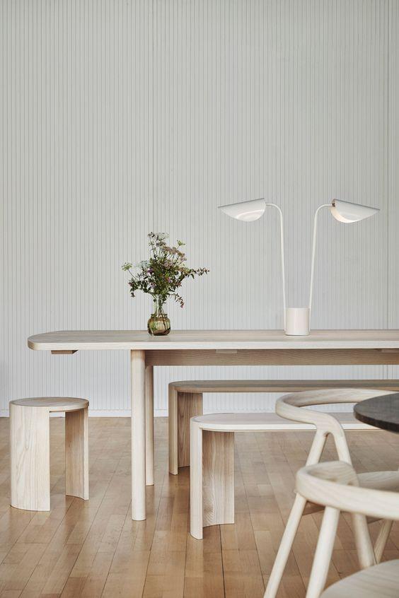 минималистичный интерьер ресторана