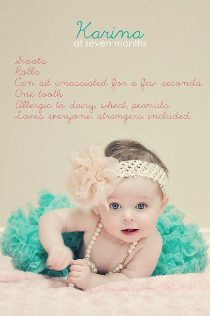 cute ideas for infant photos shoot