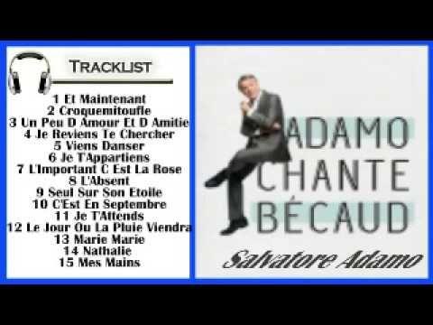 Adamo chante Bécaud(Full Abum 2015)