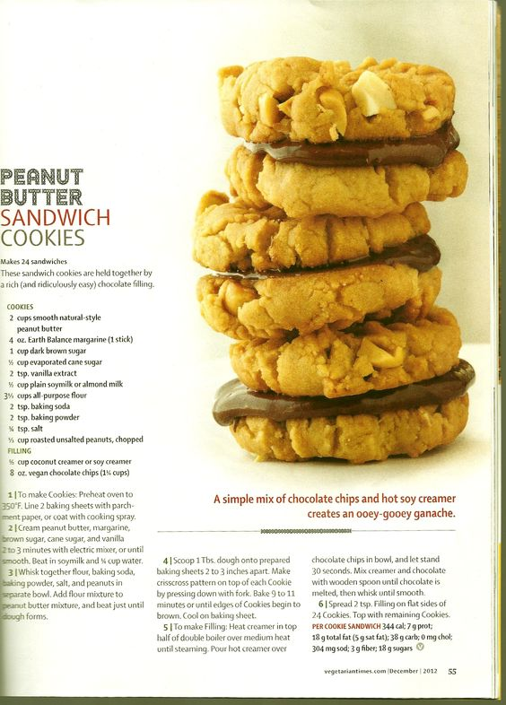 Peanut Butter Whopper Cookie Sandwiches Recipe — Dishmaps