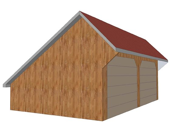 Salt box roof a low sloping roof line at the back of the for Saltbox style shed