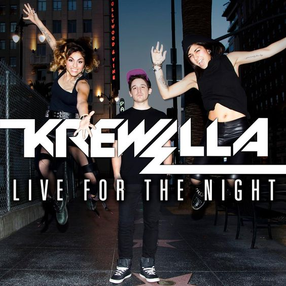 Krewella – Live for the Night (single cover art)