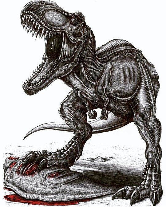 Jurassic Park World Fan D On Instagram Amazing Trex Art By Appaleoart Dinosaur Drawing Jurassic Park World Tyrannosaurus