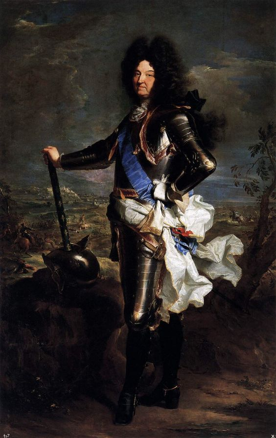 Louis XIV of France - Hyacinthe Rigaud