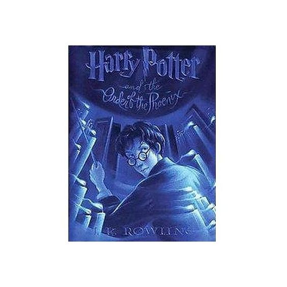 Harry Potter And The Order Of The Phoenix Large Print Paperback Harry Potter Phoenix Harry Potter Harry Potter Books