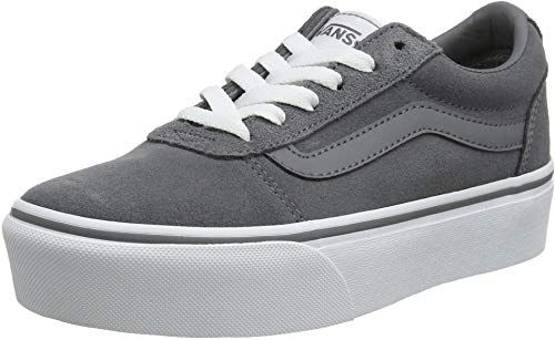 Amazing offer on Vans Women's Ward Platform Suede Trainers