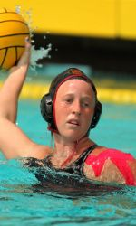 Amber Pezzolla was named a second-team All-American by the ACWPC. SDSU Water Polo's Kelly Campoli is just the second Aztec in program history to become a four-time All-American.