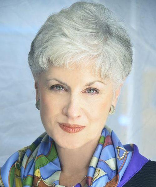 14 Graceful Grey To Platinum Blonde Short Hairstyles For Older