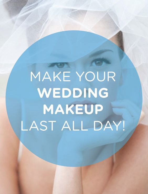 Wedding Makeup That Lasts All Day : 5 Tricks to make your wedding makeup last all day ...