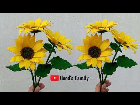 Diy How To Make Felt Sunflower