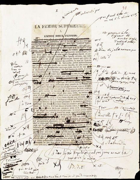 Honoré de Balzac - 1837 www.artexperiencenyc.com