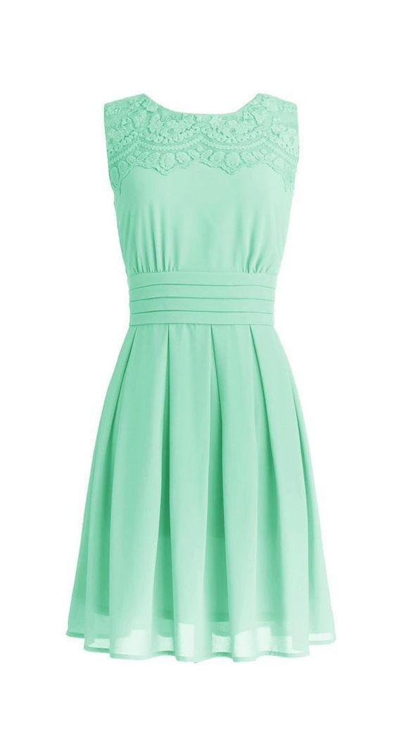 Mint Dress: