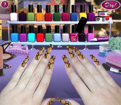 Nail Polish Designs Games Online Free Hession Hairdressing