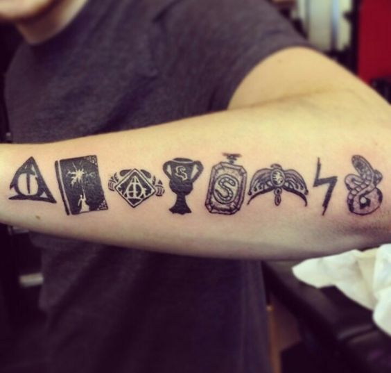 Horcrux tattoo tattoos pinterest tattoos and body art for Unique harry potter tattoos
