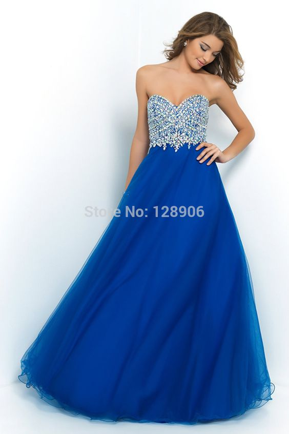 Designer Royal Blue Prom Dress 2016 Sweetheart Beaded Sequins Chiffon Purple Prom Dress Floor Length Backless Formal Prom Dress