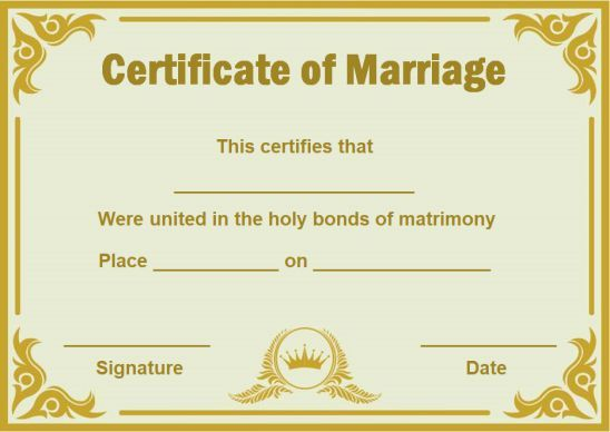 Fake Marriage Certificate Template Fake Marriage Certificate Marriage Certificate Fake Marriage Certificate Template