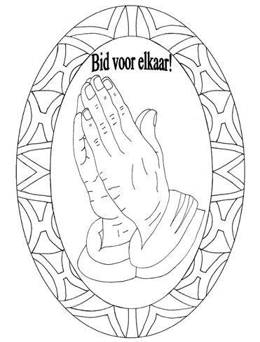 kleurplaten categorie bidden kleurplaten
